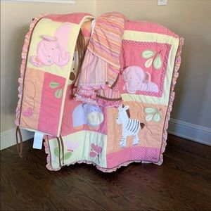 Girls nursery set